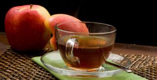Chá da casca de maçã é rico em benefícios