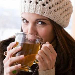 Receita do chá das folhas de oliveira