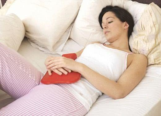 Chás para aliviar as dores das cólicas menstruais