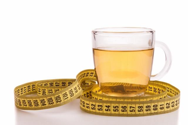 Chá e fita métrica