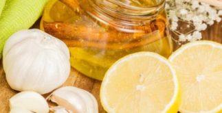 Chá de limão com mel e alho – Benefícios e propriedades