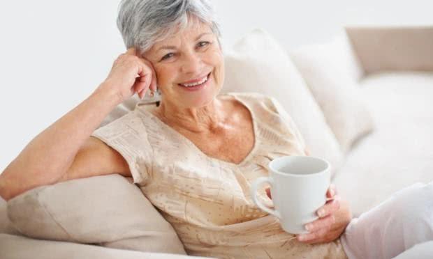 Chás para minimizar os efeitos da menopausa