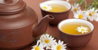 Chá de camomila para ansiedade