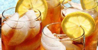 Chá gelado para refrescar e prevenir o envelhecimento