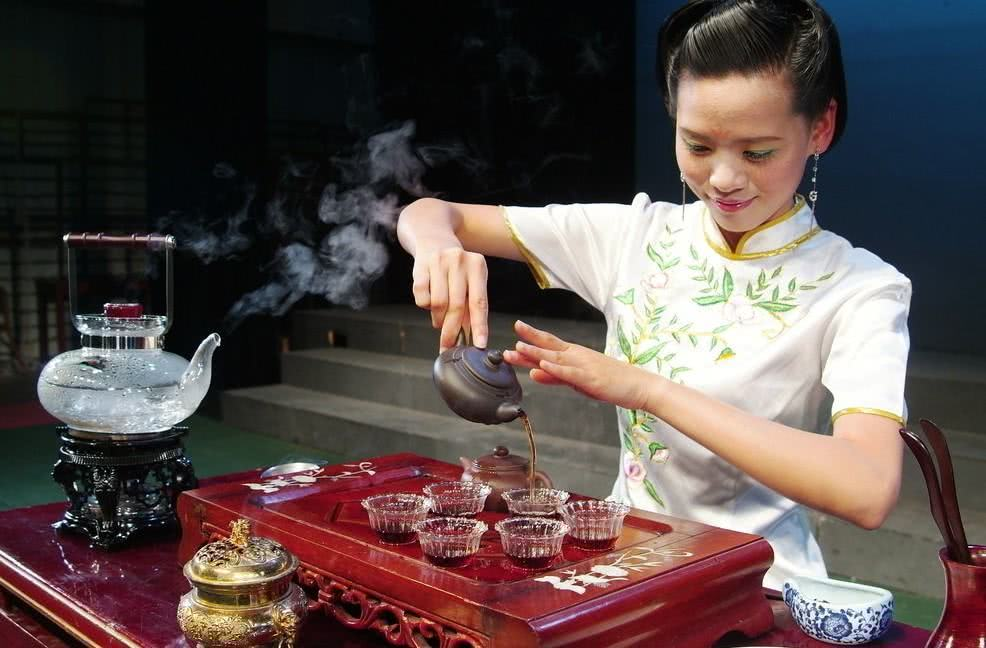 A importância do chá na China