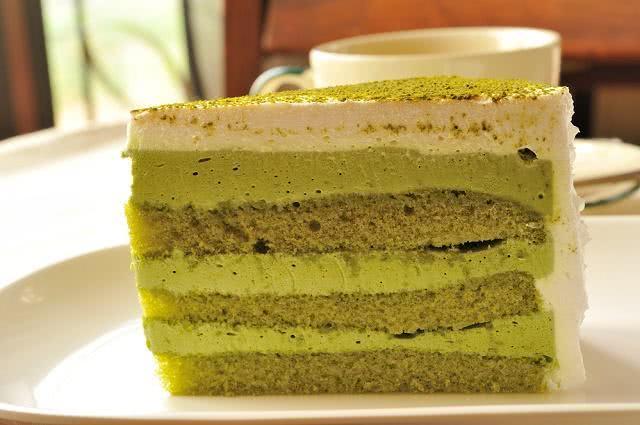 Imagem de bolo verde