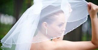 Véu de noiva pode ser tingido com chá. Confira