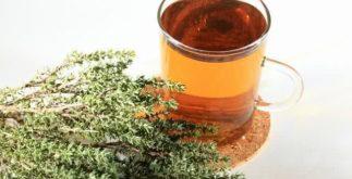 Chá de alecrim pimenta: potente antimicrobiano