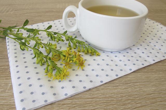 O chá de virgaurea também é indicado para pessoas com Candida