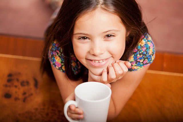 A partir de que idade meu filho pode tomar chá?