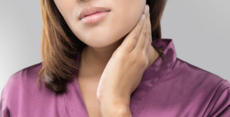 Chás para ajudar a tratar nódulos no pescoço (tireoide)