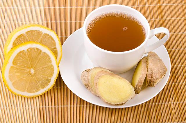 Chás tomar antes de ir malhar na academia - Chá de Gengibre