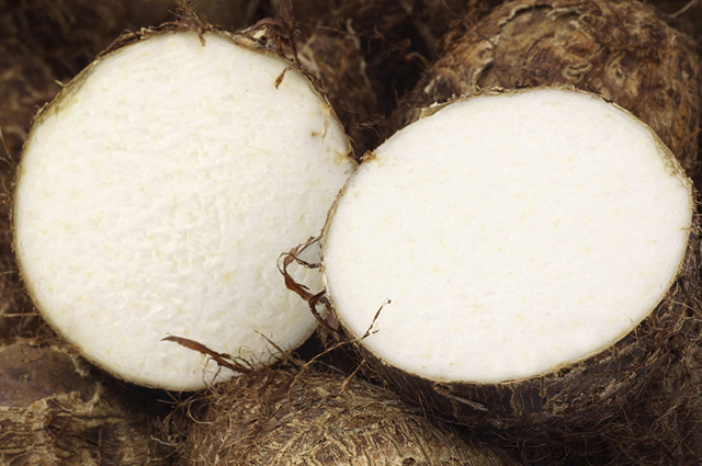 O inhame possui substâncias que são capazes de estimular a ovulação