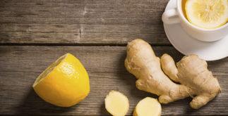 Benefícios do chá de limão com gengibre