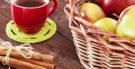 Como fazer chá de maçã