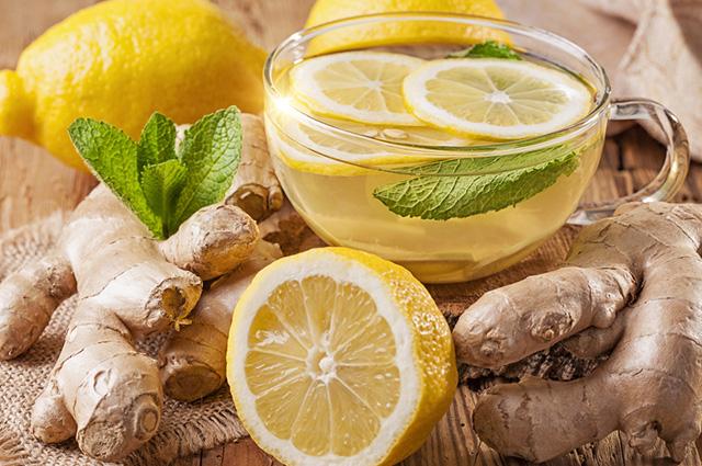 O chá de gengibre pode ser combinado com inúmeros ingredientes