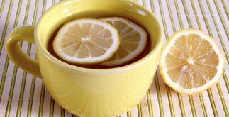 Como fazer chá de limão