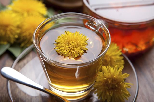 Chá de dente-de-leão