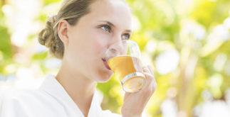 Os melhores chás diuréticos