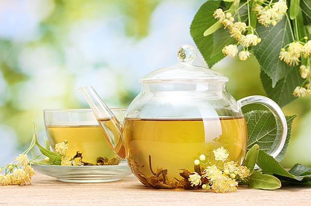 O chá de tília trata os sintomas da catapora
