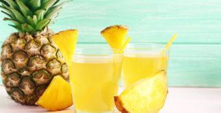 Suchá detox de abacaxi para emagrecer rápido