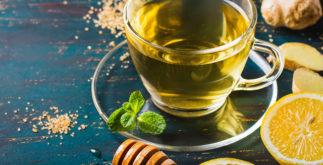 Chá para rouquidão e tosse