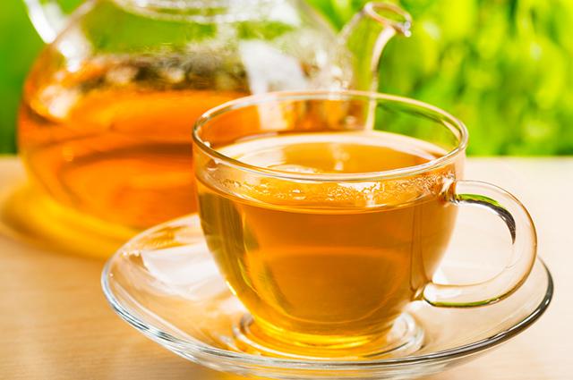Chá para ácido úrico alto