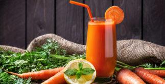 10 receitas de sucos de cenoura com limão