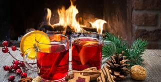 6 chás para servir após a ceia natalina