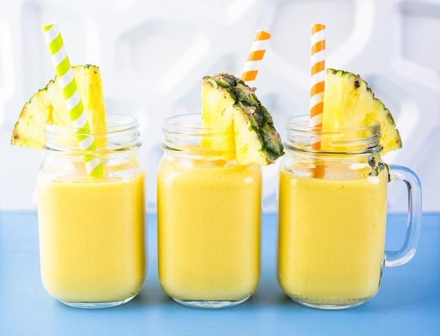 Bebidas de abacaxi