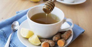 Chá de cúrcuma emagrece?