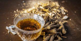 Chá de alcaçuz emagrece?