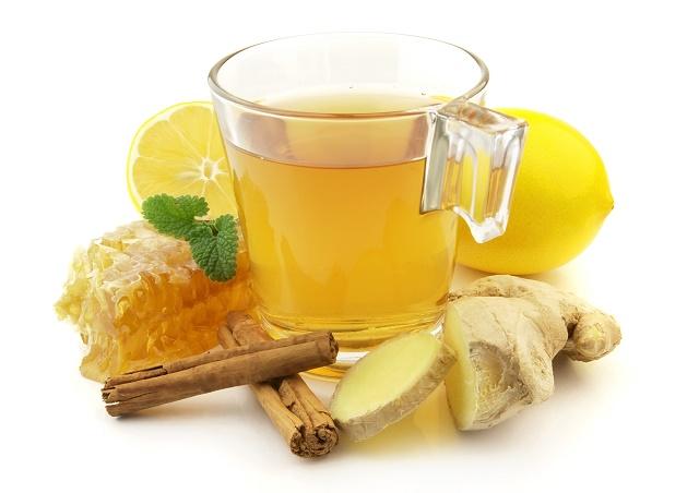 Chá e especiarias