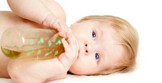 Chá de erva doce para bebê