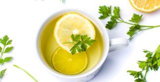 Chá de salsa para os rins